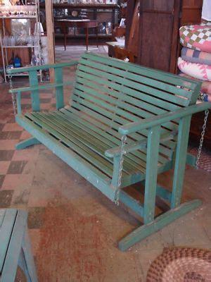 details  antique  painted oak porch large