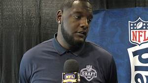 Alabama OT Cam Robinson At 2017 NFL Draft Shriners ...