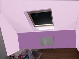 comment peindre une chambre sous pente chaioscom With comment peindre une chambre mansardee
