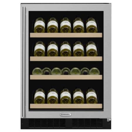 koldfront wine cooler review marvel wine cooler refrigerators ml24ws1r