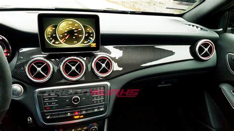 mercedes dashboard carbonwurks custom carbon fibremercedes cla gla carbon