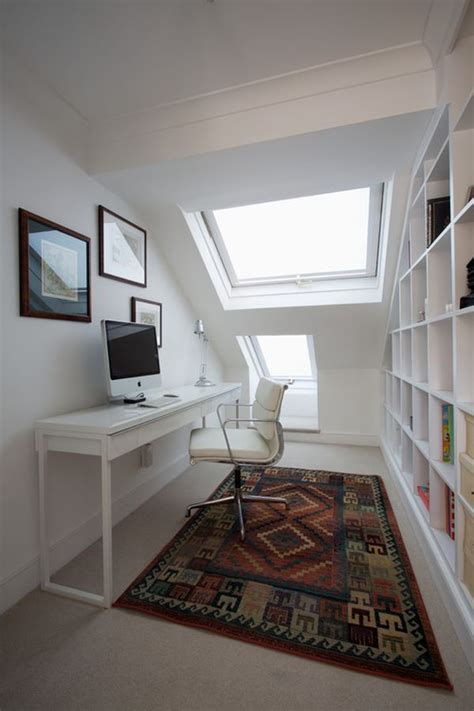 narrow office narrow desks for slim spaces and space savvy homes