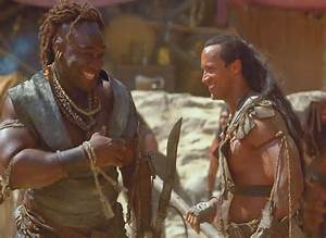 The Scorpion King images Rock and Duncan having fun HD ...