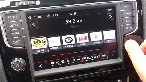 golf 7 radio radiosystem im golf 7