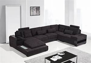 Diamond Modern Fabric Sectional Sofa