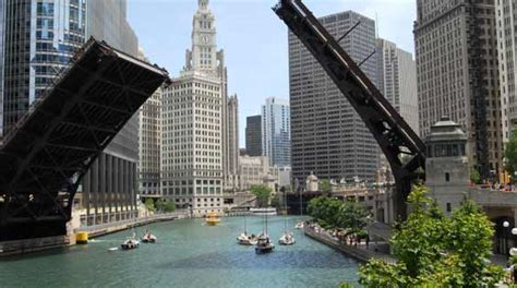 Chicago Boat Tour Map by Boat Tours Chicago