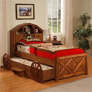 Dakota, Bookcase, Bed