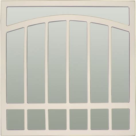 Shop Gatehouse 48 in x 48 in Almond Arched Window Security