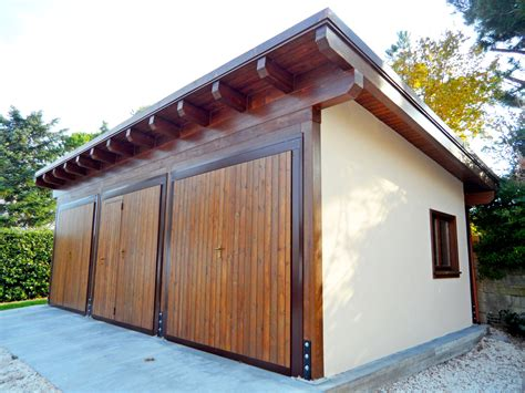 Box Legno Auto by Box Auto E Carport Jesi Ancona