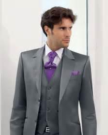 costume 3 piã ces mariage pin costume gris clair trois pièces pour homme veste gilet pantalon on