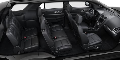 ford explorer seating configurations www