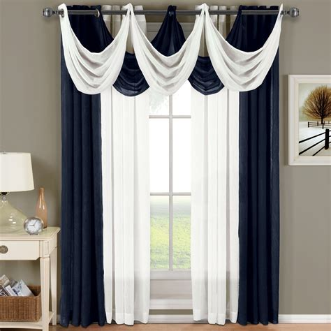 Curtain Panels by Abri Grommet Crushed Sheer Curtain Panel Single