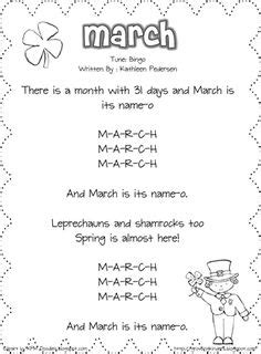 months of the year song for preschool 1000 images about monthly ideas on calendar 260