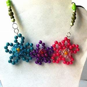 Best Neon Bead Necklace Products on Wanelo