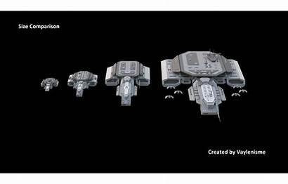 Stargate Comparison Ships