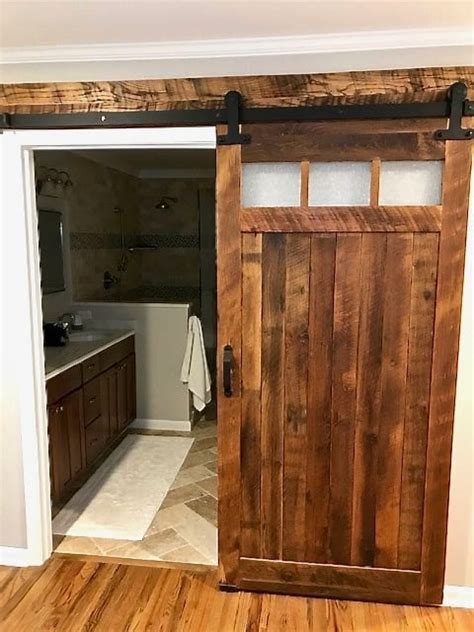 light rain glass barn door furniture   barn