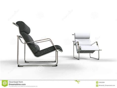 Poltrone Moderne Immagini : Poltrone Moderne In Bianco E Nero Illustrazione Di Stock