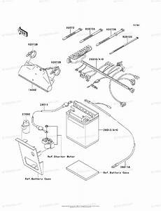 Kawasaki Atv 1998 Oem Parts Diagram For Chassis Electrical