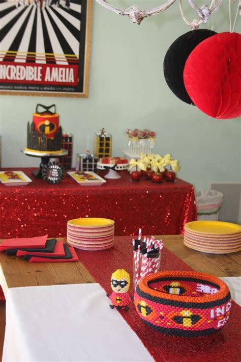 incredibles birthday party ideas photo    catch