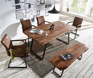 Baumtisch Live Edge : baumtisch live edge 180x100 akazie braun platte 5 5 cm gestell schr g m bel tische esstische ~ Sanjose-hotels-ca.com Haus und Dekorationen