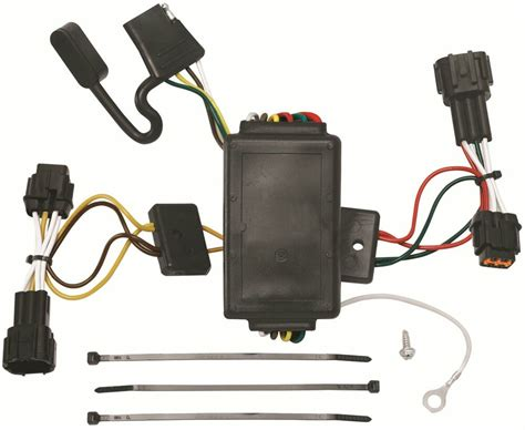 T Wire Harnes by Trailer Hitch Wiring Kit Fits 2009 2012 Nissan Cube