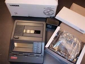 Lanier Microcassette Transcriber: Dictation Machines   eBay