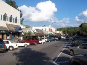 Highlands NC Downtown