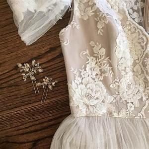 exquisite cotton lace applique cream embroidery wedding With lace applique wedding dress