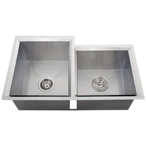 16 stainless steel undermount kitchen sinks ticor s608 undermount 16 stainless steel kitchen sink 9682