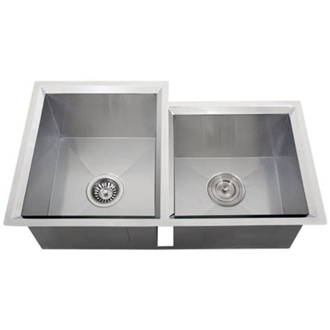 16 gauge vs 18 gauge sink for kitchen ticor s608 undermount 16 gauge stainless steel kitchen sink