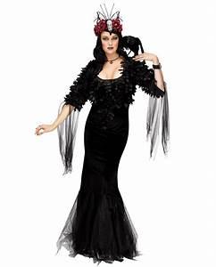 Warmes Halloween Kostüm : raben f rstin deluxe kost m kaufen karneval universe ~ Lizthompson.info Haus und Dekorationen