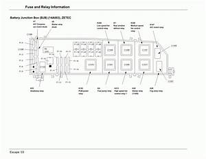 2004 Ford Explorer Xlt Fuse Box Location