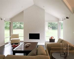 Bring a white brick fireplace to your life and house ...