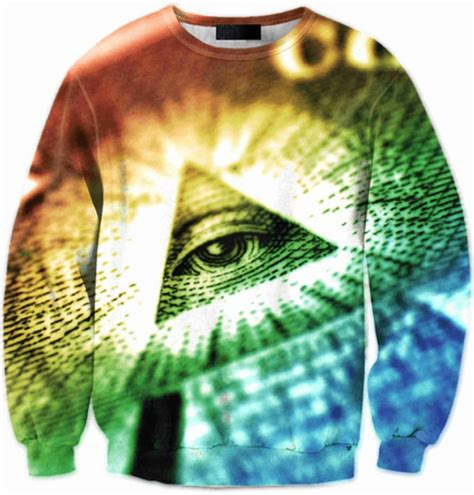 illuminati wear illuminati eye of providence sleeve 3d wear