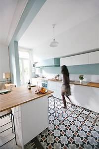 beaux carreaux de ciment With exemple de jardin de maison 9 besoin daide et didees pour amenagement saloncuisine