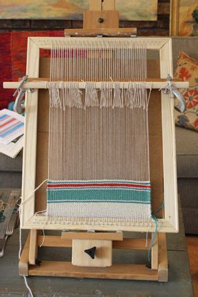 untangling threads     simple homemade frame