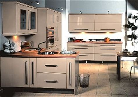 Eclipse High Gloss Cappuccino Made to Measure Kitchen Door