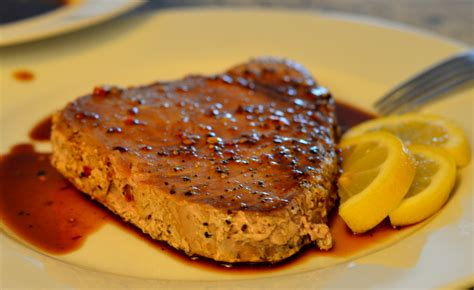 how to cook tuna steaks ahi tuna steak recipe lifeisnoyoke com