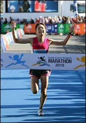 Marathon Runner Poops Herself