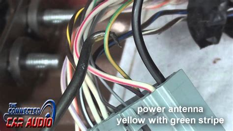 Factory Stereo Wiring Diagram Ford Mustang Youtube