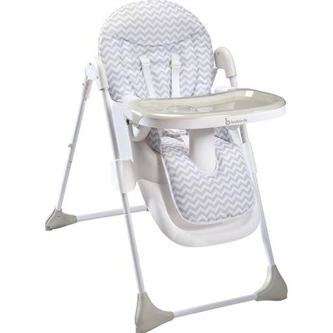 chaise haute easy white grey de badabulle chez naturab 233 b 233