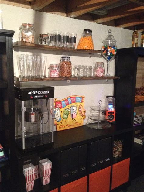 Our basement snack bar.   Decorating Damsel: Our DIY