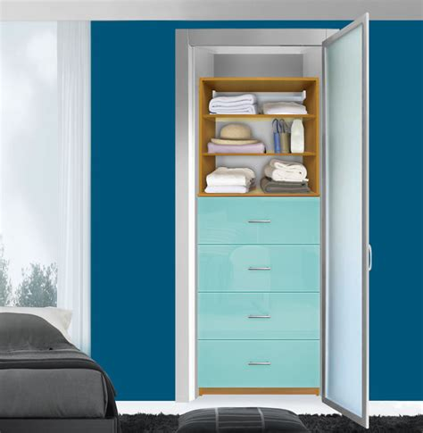 drawers for closet isa closet drawer system 4 drawers adjustable