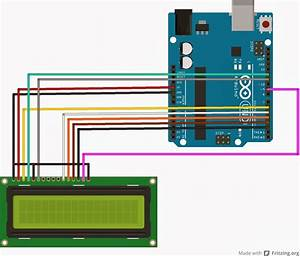 Interfacing Lcd Without A Potentiometer  In Arduino And Ccs