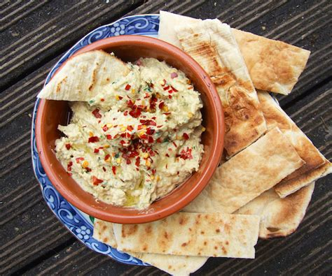 cuisine libanaise houmous