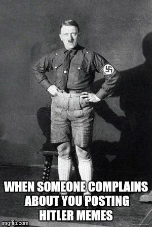 Hitler Meme Generator - hitler shorts imgflip