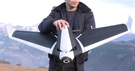 wait    hands   fixed wing plane drone maxim