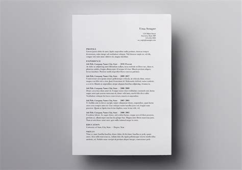 Free Resume Templates For Pages by Pages Resume Templates 10 Free Resume Templates For Mac