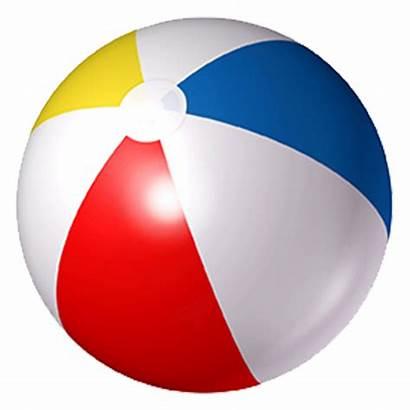 Ball Beach Beachball Cartoon Clipart Clip Summer