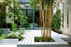 terrasse zen bois With modele de jardin avec galets 1 terrasse bois exotique jardin zen et fontaine youtube